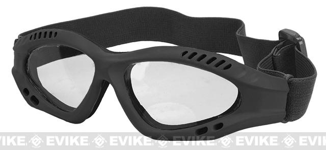 Avengers Zero Tactical Shooting Range / Target Practice Goggles (Color: Black)