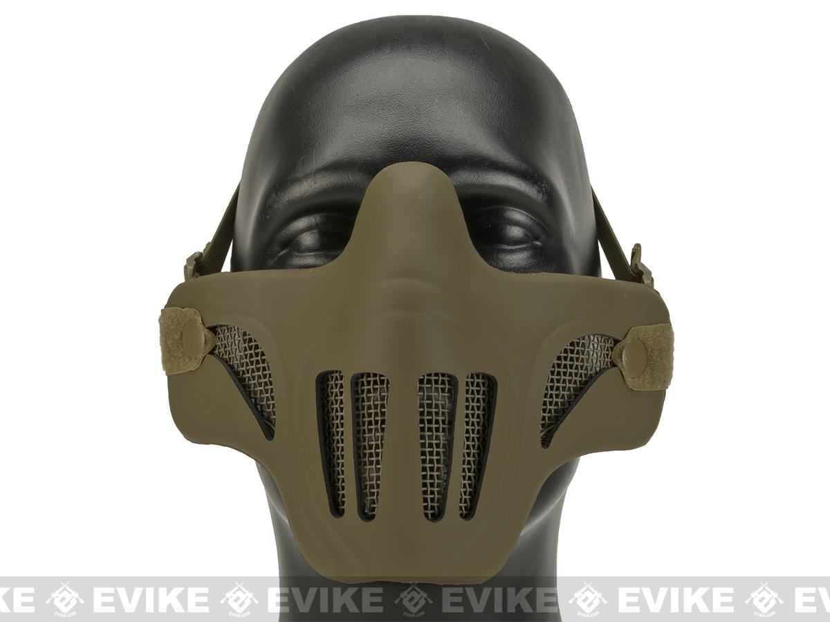 Matrix Metal Mesh Lower Half Mask with Soft Polymer Covering ...