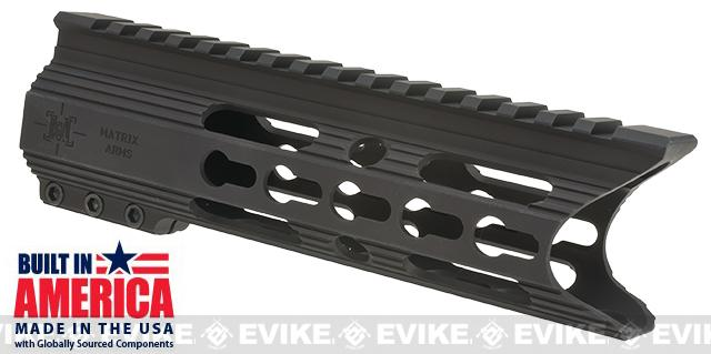 Matrix Arms 6 5.56 Charlie Keymod Free Float Hand Guard for AR15 / M4 / M16 Rifles - Black
