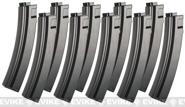 Umarex 95rd Magazine for H&K MP5 Series Airsoft AEG Rifle (Package: Set of 10)