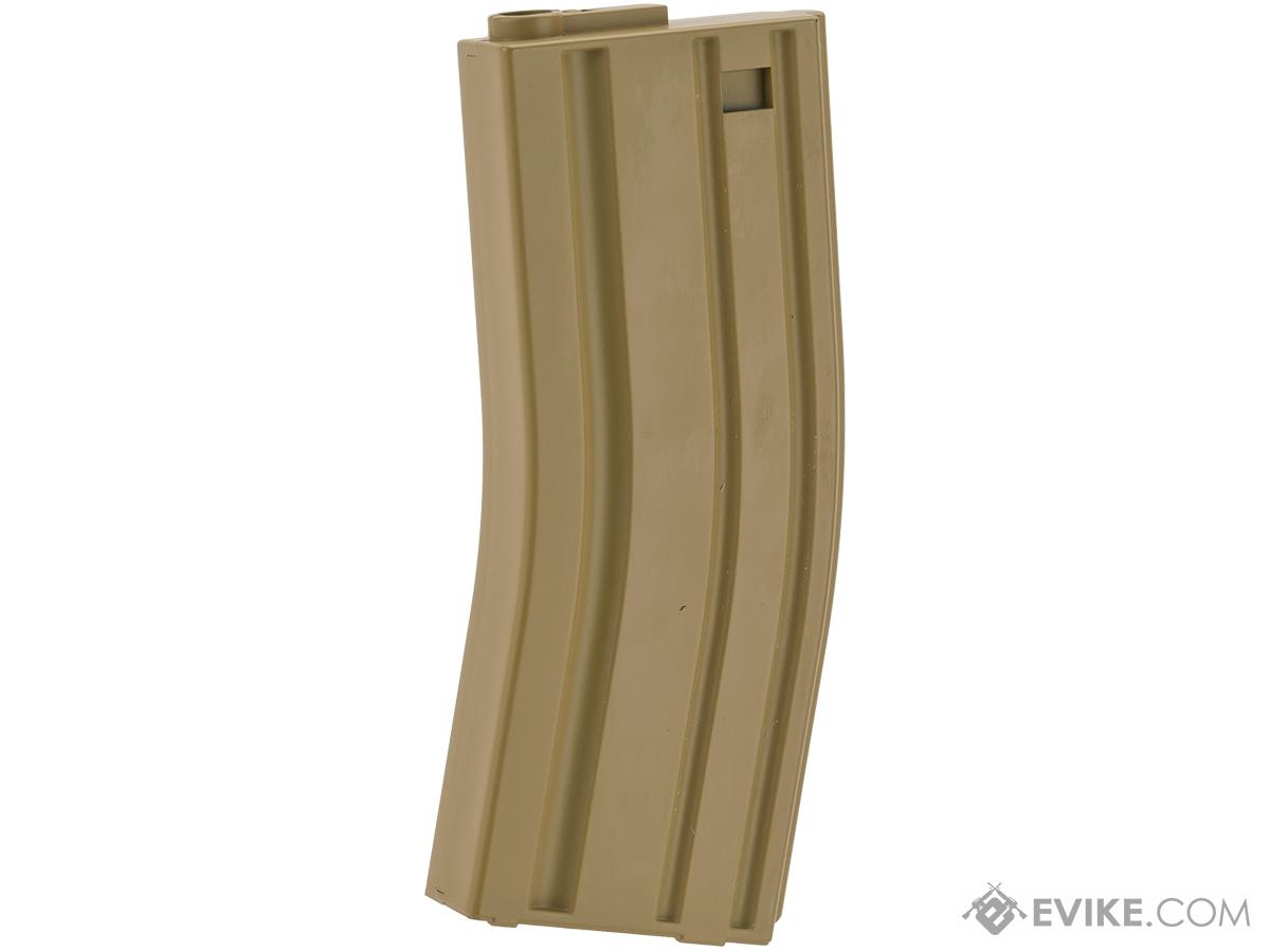MAG 130rd Midcap Magazine for M4 / M16 Series Airsoft AEG Rifles  (Color: Dark Earth / One)