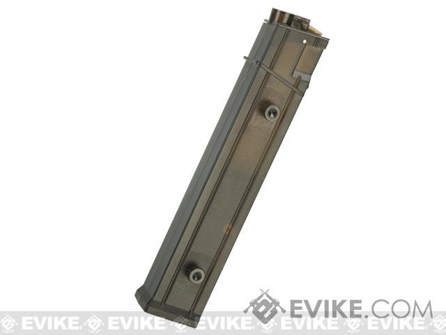 Angel Custom AP10 Straight Style Magazine for MP5 Series Airsoft AEG (Type: 200rd Hi-Cap / 5 Pack)