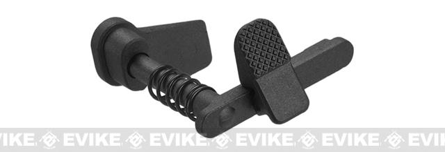 APS Ambidextrous Magazine Release for M4/M16 Series Airsoft AEGs (Color: Black)