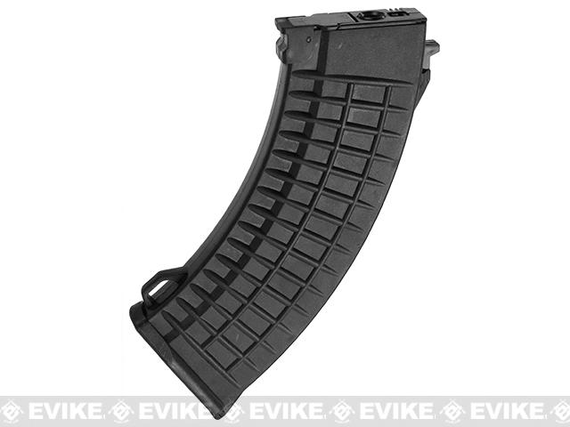 Matrix Bulgarian Waffle Type 550rd Hi-Cap Magazine for AK Series Airsoft AEG (Color: Black)