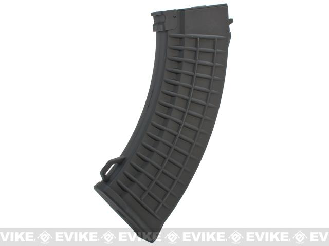 Matrix 150rd  Mid-cap No Winding Magazine for AK Series Airsoft AEG (Color: Black / Polymer Waffle)
