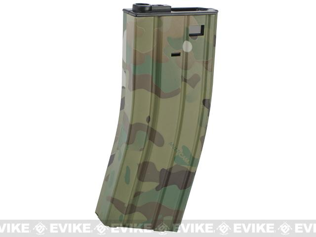 DYTAC 300rd Metal Hi-Cap Magazine for M4 / M16 Series Airsoft AEG Rifles (Color: Multicam)