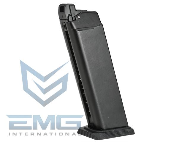 Pre-Order ETA September 2019 EMG Magazine for BLU & GLOCK Series Gas Airsoft Pistols (Model: Basic / CO2 / 25rds)