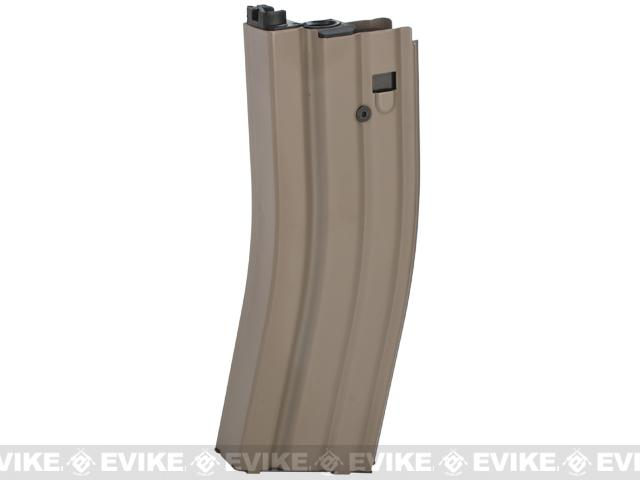 G&G 30RD Spare Magazine for Combat Machine CM16 Ver II Airsoft GBB Rifle (Color: Tan)