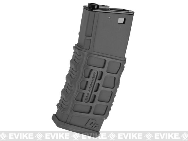 G&G 330rd G26 Type Hi-cap Magazine for M4 M16 SCAR Series Airsoft AEG (Color: Black)