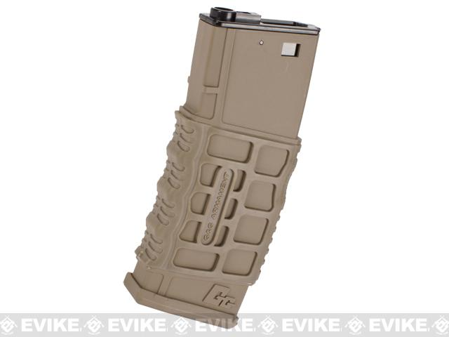 G&G 330rd G26 Type Hi-cap Magazine for M4 M16 SCAR Series Airsoft AEG (Color: Tan)