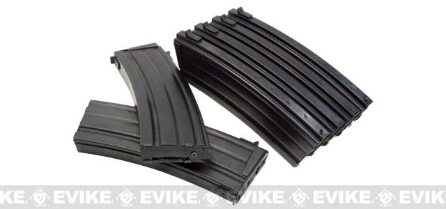 ICS 400 round Magazines for ICS Galil Airsoft AEG Rifle (Set of 6)