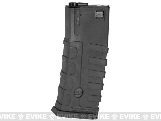 Command Arms CAA Licensed Magazine for M4 M16 AEG by King Arms (Type: 360rd Hi-Cap / Black / Single Magazine)