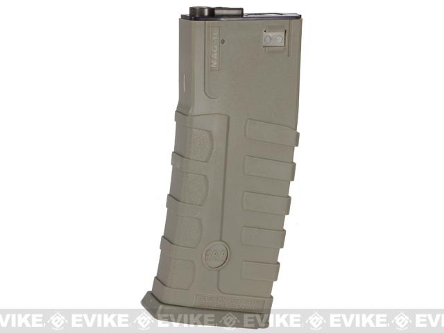 Command Arms CAA Licensed 360rd Magazine for M4 M16 Airsoft AEG by King Arms (Color: Dark Earth)