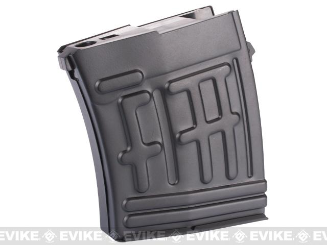 King Arms 50rd Metal Magazine for King Arms SVD Airsoft Sniper Rifle
