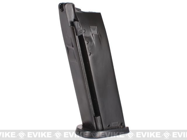 Full Metal Magazine for KJW Tomb Raider / P8 Series Airsoft Gas Blowback