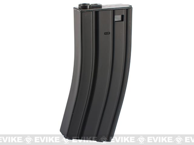 E&C 160rd Metal Mid-Cap Magazine for M4 M16 Series Airsoft AEG Rifles (Color: Black)