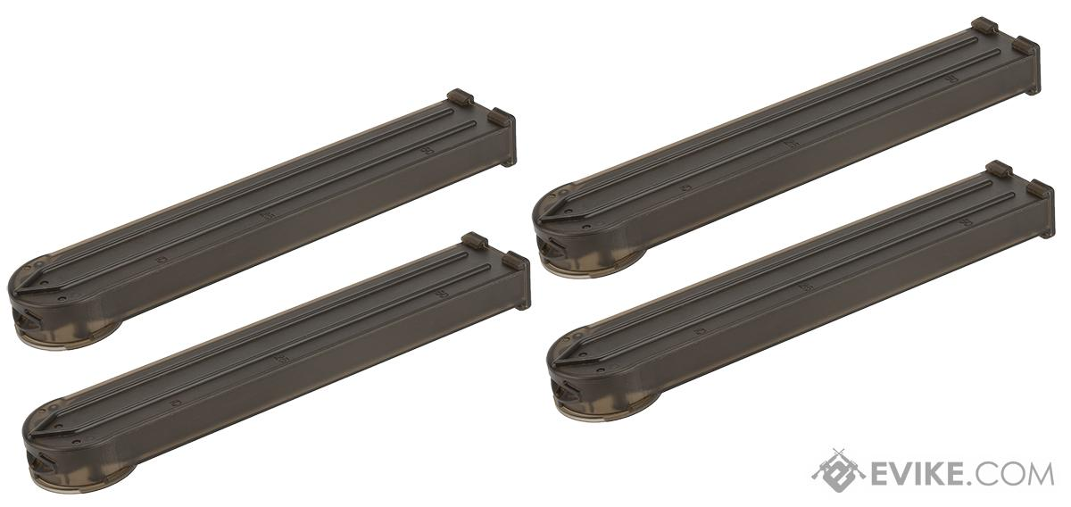MAG 170 Round  Midcap Magazine for P90 Series Airsoft AEG (Package: Set of 4)