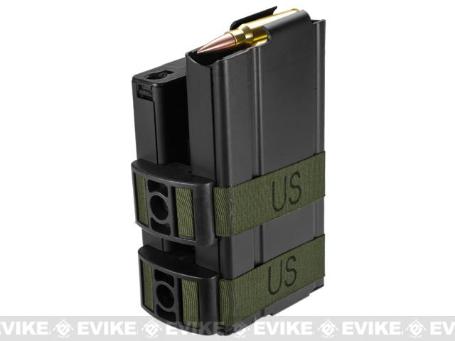 Matrix 750rd Electric Double Magazine for M14 Series Airsoft AEG Rifles (Color: Black)