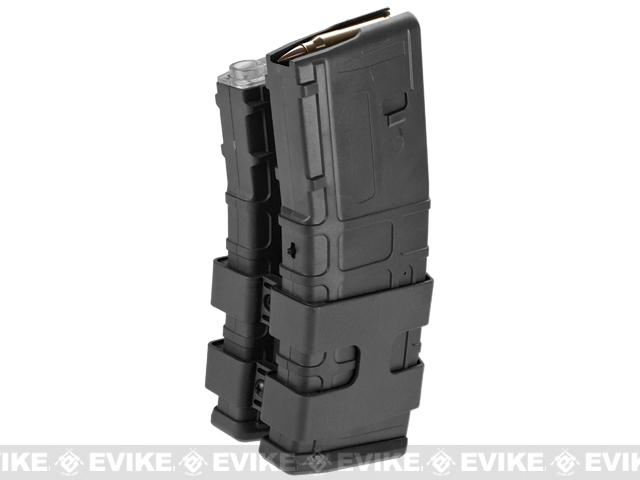 Matrix 800rd Electric Double Polymer Magazine for M4 / M16 Series Airsoft AEG Rifles (Color: Black)