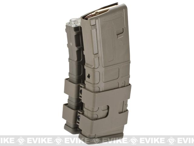 Matrix 800rd Electric Double Polymer Magazine for M4 / M16 Series Airsoft AEG Rifles (Color: Dark Earth)
