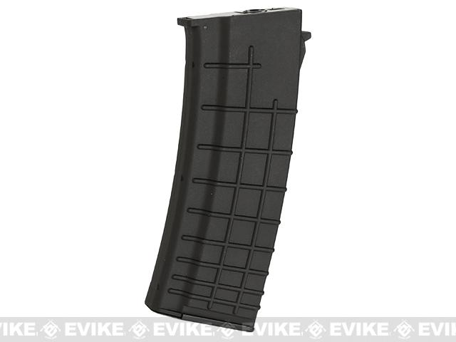 Echo1 / CYMA Genesis OCW 550rd Hi-Cap Magazine for AK74 Series Airsoft AEG Rifles - Black (One)