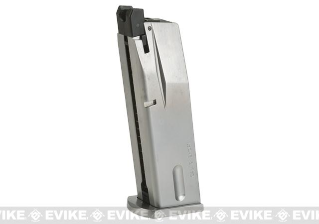Magazine for WE-Tech M84/S92 Airsoft GBB Pistol (Color: Silver)
