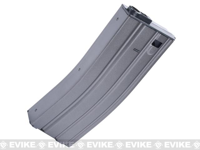 VFC 120rd Steel Stamped GI Midcap Magazine for SCAR M4 M16 Series Airsoft AEG (Color: Wolf Grey)
