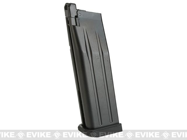 WE Spare Magazine for HI-CAPA 5.1 / 4.3 / 3.8 Series Airsoft Gas Blowback (Color: Black)