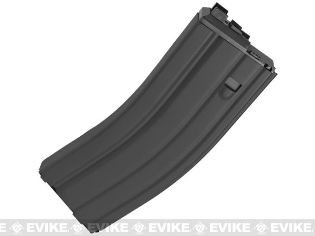 WE Spare Mag for OPEN BOLT WE M4 / SCAR / ASC / PDW Series Airsoft Gas Blowback Rifles (Version: Green Gas / Black)