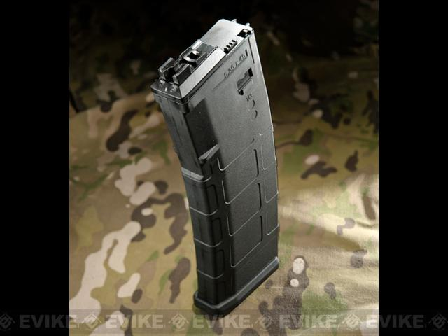 WE-Tech 30 Round Polymer Magazine for WE Open Bolt M4 Airsoft Gas Blowback Series Rifles (Color: Black)
