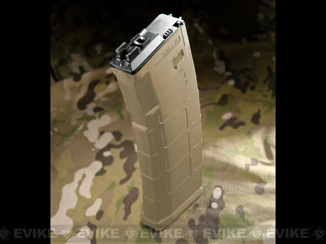WE-Tech Magazine for MSK Series Airsoft GBB Rifles (Color: Dark Earth)