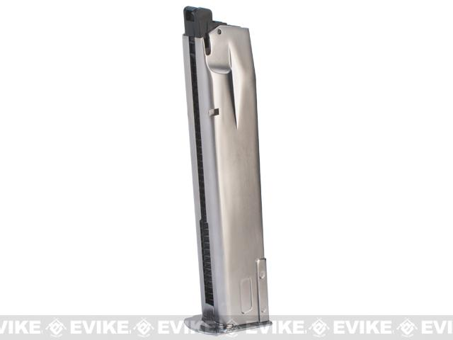 WE-Tech 30rd Full Metal Magazine for P226 / P-Virus Series Airsoft GBB Pistols - Silver