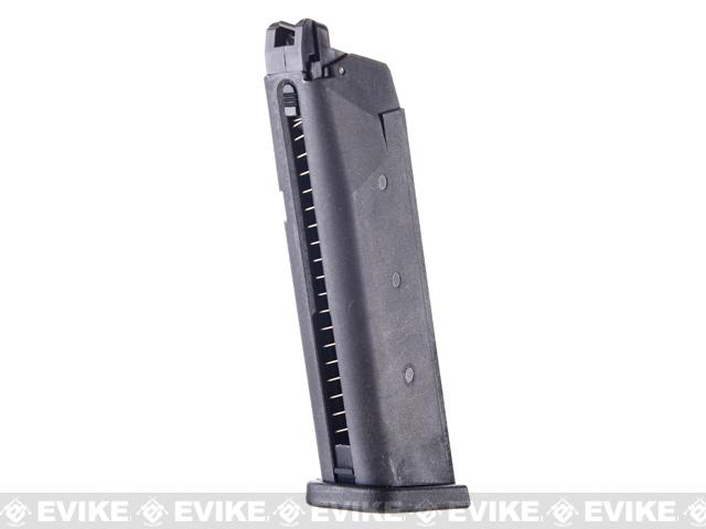 WE 25rd Magazine for SAI BLU ISSC M22 Lonewolf & Compatible Airsoft Gas Blowback Pistols (Model: Lightweight)