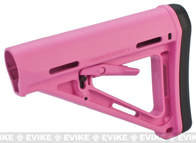 Magpul MOE® Carbine Stock - Mil-Spec (Color: Pink)