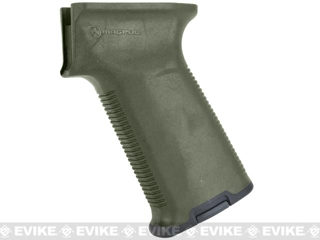 Magpul MOE AK+ Grip for AK47 / AK74 Series Rifles - OD Green