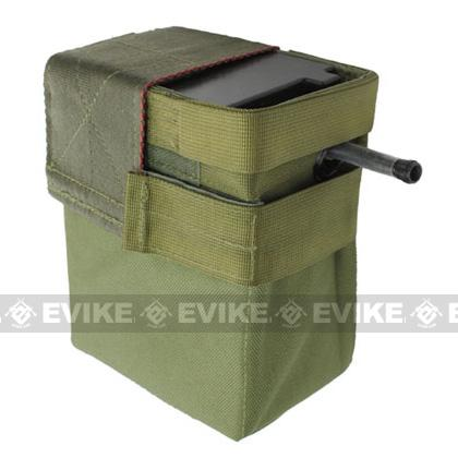 A&K 2500 round Box Magazine for A&K M60 MK43 & Compatible Series Airsoft AEG