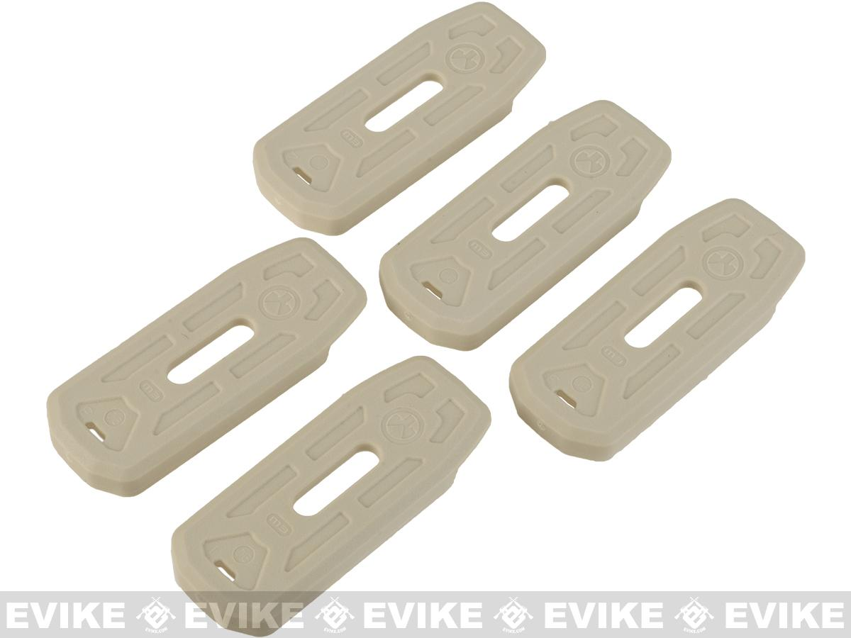 Magpul Floor Plate for LR/SR M3 PMAGs - Sand (5 Pack)