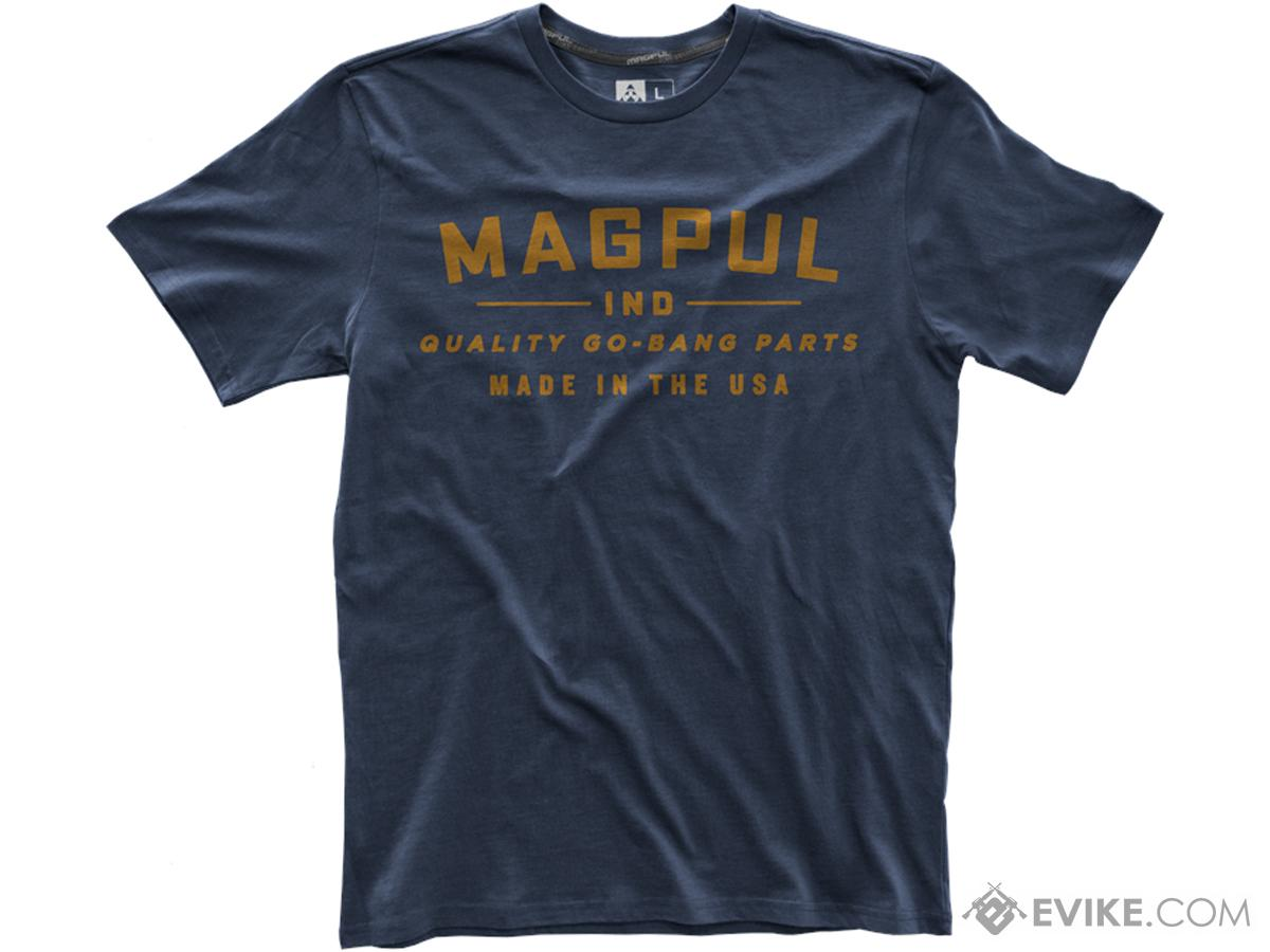 Magpul Fine Cotton Go Bang T-Shirt (Size: Navy / Large)