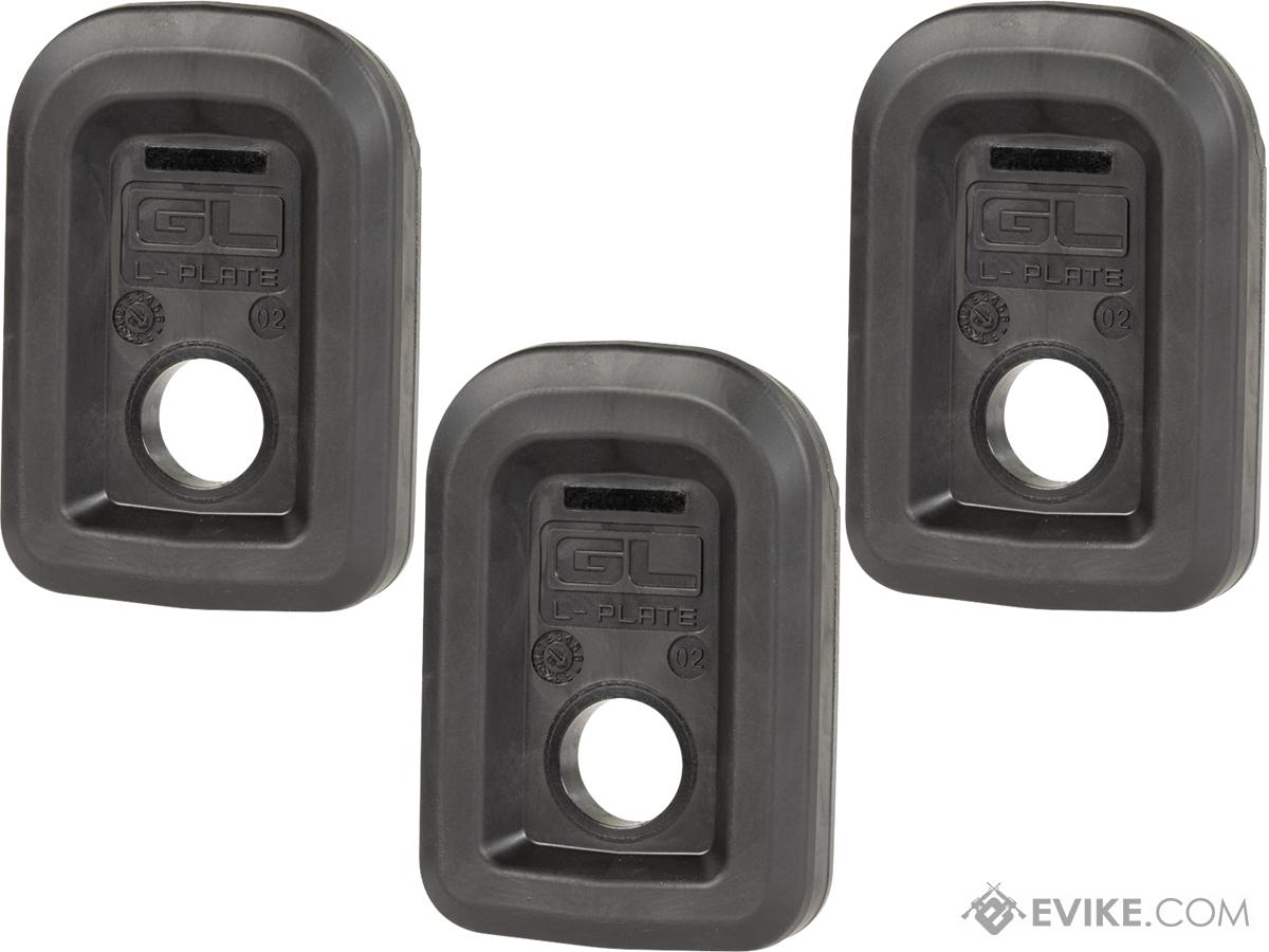 Magpul GLOCK GL L-Plate™ for PMAG GL9 Magazines (Color: Black / 3 Pack)