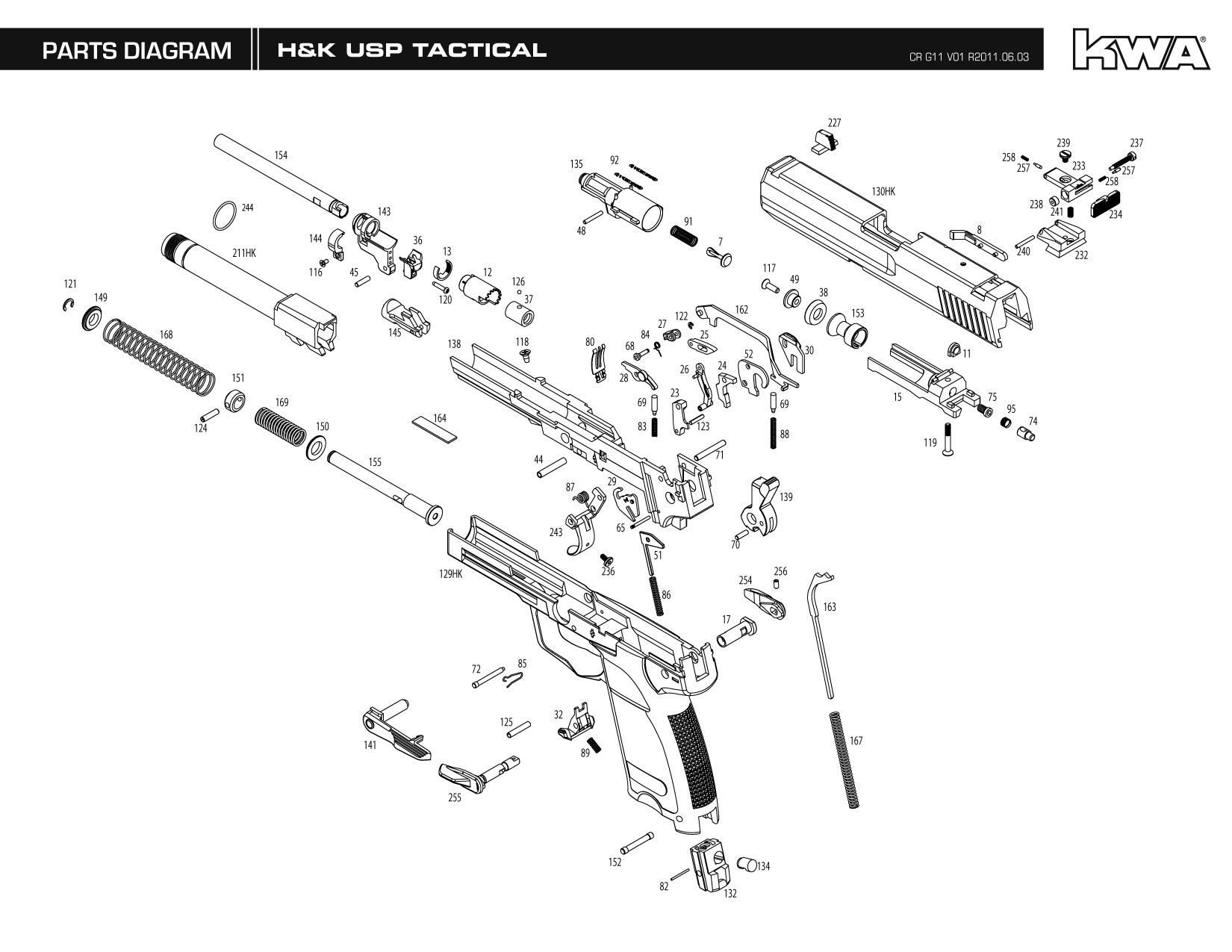 free download kwa h&k usp tactical gas blowback instruction manual schematics for walther p99 airsoft pistol walther p99 diagram #38