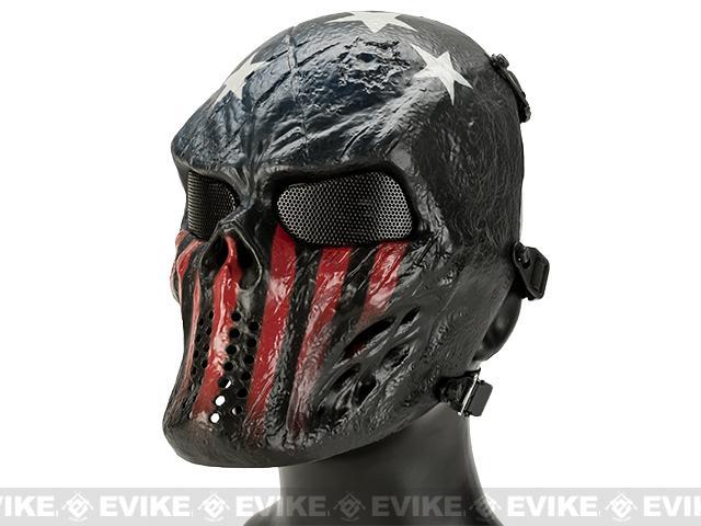 Avengers Full Face Mesh Mask (Style: Captain)