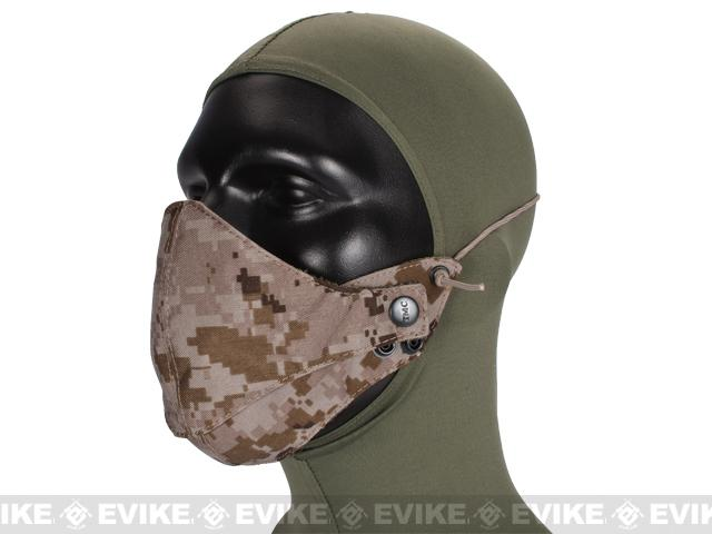 Avengers Adjustable Half Face Mask - Digital Desert