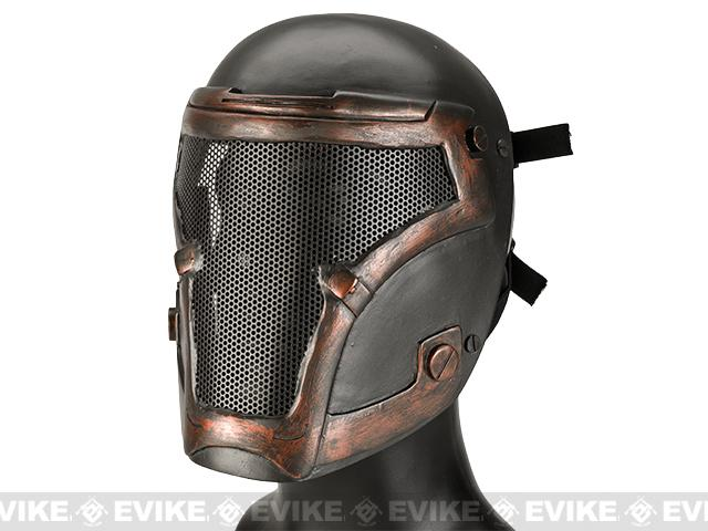 Emerson Wire Mesh Bio-Chemical Soldier Face Mask - Rust Bronze