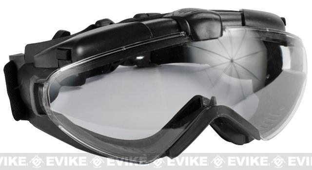 Avengers Turbo Fan Airsoft Goggles - Black
