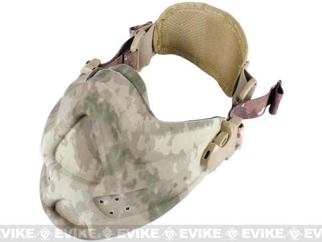 Matrix High Speed Lightweight Half Face Mask (Color: Arid Camo)