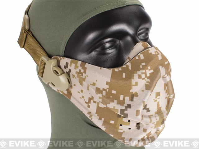 Matrix High Speed Lightweight Half Face Mask (Color: Digital Desert)