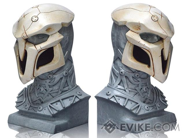 Evike.com R-Custom Reaper Fiberglass Mask w/ Wire Mesh (Color: White)