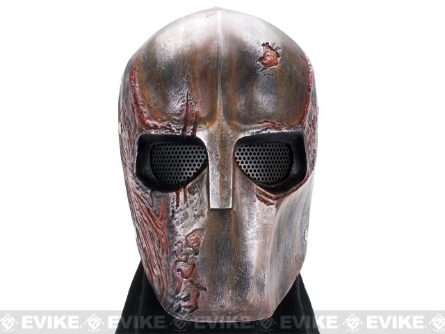 z Evike.com R-Custom Fiberglass Wire Mesh Rios Burnt Mask Inspired by Army of Two