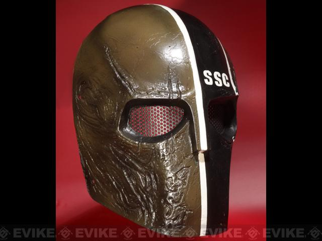 Evike.com R-Custom Fiberglass Wire Mesh Rios SSC Mask Inspired by Army of Two