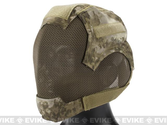 Matrix Striker Helmet Full Face Carbon Steel Mesh Mask (Color  Arid Camo) 53e63b4c2